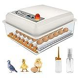 KKTECT Incubatrice per uova -36 uova - Ribaltatore automatico - Controllo della temperatura, Incubatrici per uova da cova di Tacchino Anatra Oca Quaglia Pollo