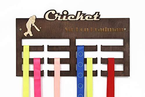All sports Medal Display, Cricket, Cricket Gifts, Medal Hanger, Medal Rack, Medal Holder, Personalized Medal Rack, Custom Medal Holder, Cricket Lover