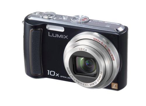 Panasonic Lumix DMC-TZ5K 9MP Digital Camera with 10x Wide Angle MEGA Optical Image Stabilized Zoom (Black) (OLD MODEL)
