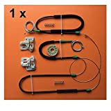 Yuchang LLPing Adatta per BMW X5 E53 99-07 Finestra REGOLATORE di Riparazione Kit Slider Anteriore A Sinistra/Destra 1999-2007 LELEMAO