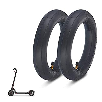 2 Pair 8.5 Inch Thickened Inner Tubes, Scooter Inner Tube 8 1/2 x 2 for Xiaomi M365 Electric Scooter Inflated Spare Tire, Scooter Heavy Duty Inner Tube for Mini Pocket Bikes Electric Scooter Parts