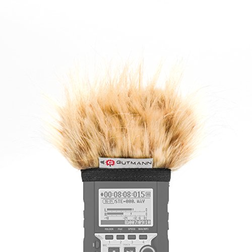 Gutmann Mikrofon Windschutz für Zoom H4n / H4nSP / H4n Pro Camel   Made in Germany