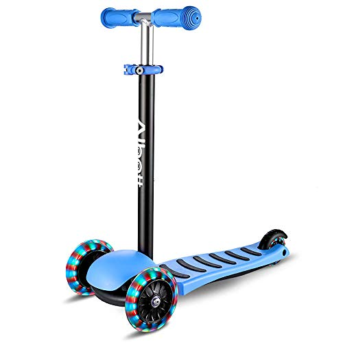 Albott 3 Wheels Kick Scooter for Kids Toddlers Scooter with...