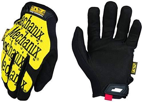 Mechanix Wear - Guantes Original (Mediana, Amarillo) Trabajo, M