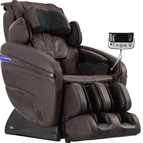 OSAKI OS-7200H Pinnacle FDA Zero Gravity Computer Body Scan 51 Air Bag Massage Hip Massage Auto Leg Scan Best Massage Chair (Brown)