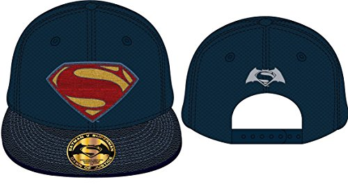 for-collectors-only Batman vs Superman Cap Contrast Logo Dawn of Justice Baseball Snapback Cap Mütze Schirmmütze DC Comics