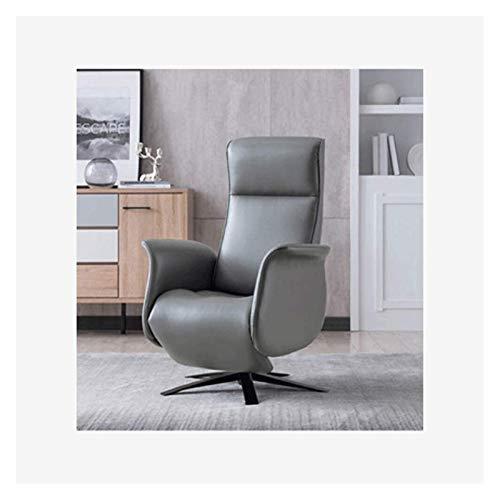 WNN-URG Silla de Oficina de Servicio Pesado, Silla ergonómica de Cuero de la Espalda Alta de la PU, Silla ejecutiva Acolchada Gruesa URG (Color : Grey)