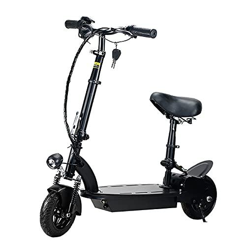 Scooter Eléctrico para Adultos Y Mujeres, Patinetes Potente Scooter Eléctrico con Pedal...
