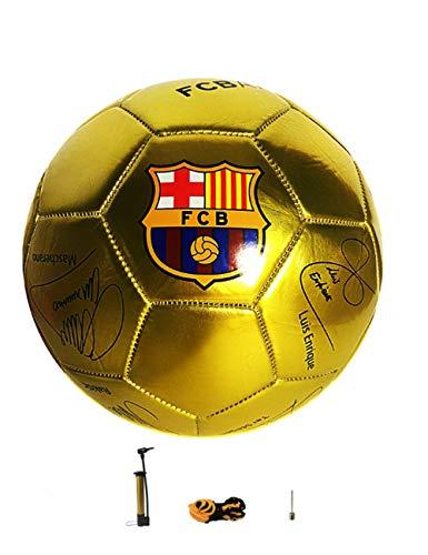 Fútbol Barcelona Memorial, balón de fútbol, balón de Entrenamiento, Talla 5