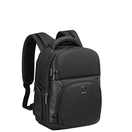 DELSEY PARIS Quarterback Premium Sac à dos loisir, 44 cm, 26 L, Noir