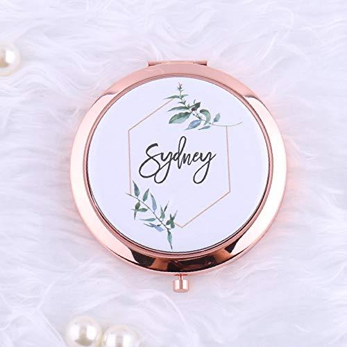 Personalisierbarer Taschenspiegel für Hochzeit, Brautjungfer, Brautjungfer, Brautjungfer, Brautjungfer, Brautjungfer, Geschenk, Zitat