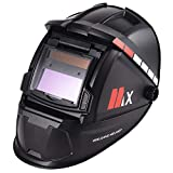 ENJOHOS Helmet Integral ARC Welding Máscara de Soldadura automática a Prueba de Salpicaduras para Soldadura Protección de la Cabeza Balaclava Solar Cell