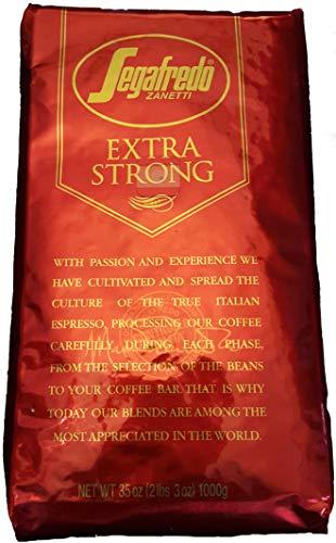 Segafredo Zanetti Extra Strong Whole Bean Coffee, 35 Ounce Bag