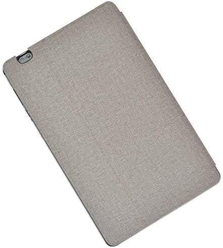 RLTech Hülle für LNMBBS P40, Ultra Schlank Schutzhülle Etui mit Standfunktion Smart Case Cover für LNMBBS P40, Grau