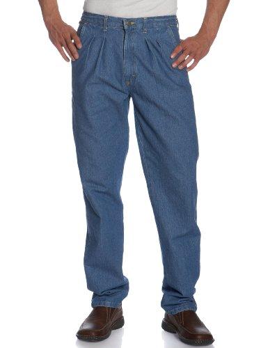 Wrangler Men's Rugged Wear Angler Relaxed-Fit Jean , Indigo, 48x30