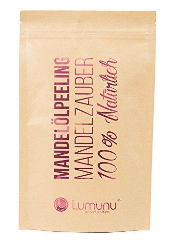 Deluxe 3-in-1 Creme Öl-Peeling MANDELZAUBER (250g), 100% natürliches Körper-Peeling mit Mandelöl, vegan & tierversuchsfrei, von Venize