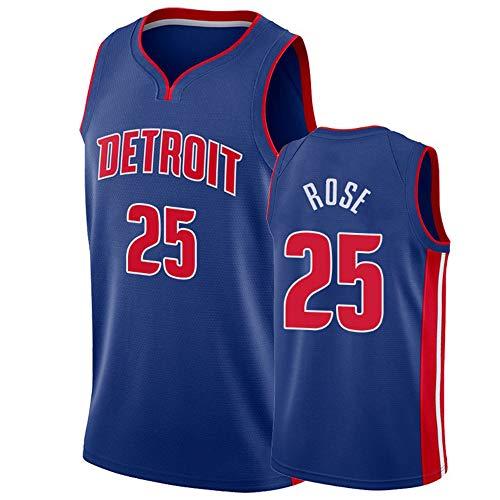 FILWS Basketball Jersey Derrick Rose Herren Sport Stick Trikot Reguläre Saison Neue Saison Basketball Uniformen Unisex Schnelltrocknende Stoffe Fan Sportswear