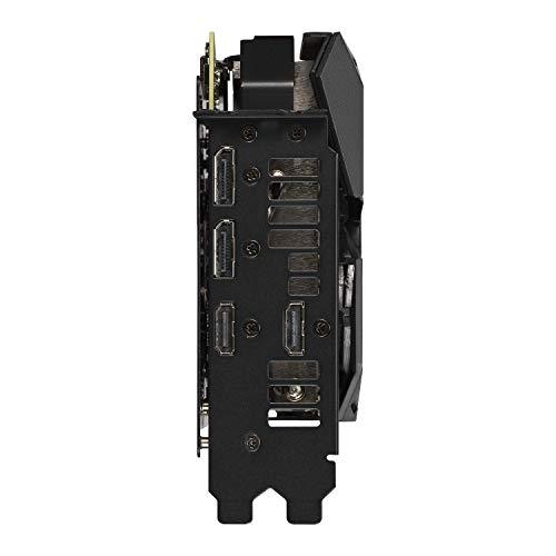 Asus ROG STRIX RTX 2060 6 GB GDDR6 con LED RGB, Aura Sync e dissipatore triventola per gaming con alte frequenze di aggiornamento