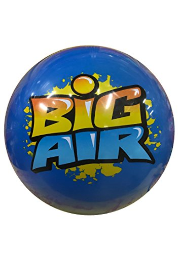 """Wave Runner Big Air Inflatable Giant Beach Ball Size Large 18"""" Water Bouncing Ball. Great Kids and Adult Boys and Girls for Pool Beach Pond Lake Activities Summer Toy Gift Under 10 (Blue, Large)"""