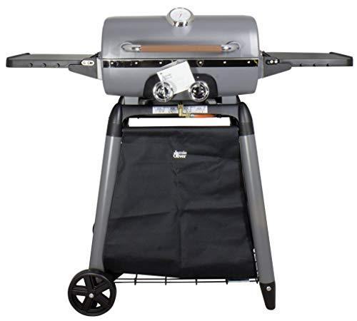 Trendyshop365 Gas-Grill Explorer 5500 Jamie Oliver Edition Zweiflammig Premium BBQ Grillwagen mit Thermometer