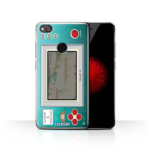 Hülle Für ZTE Nubia Z11 Mini Spielkonsolen Donkey Kong JR Design Transparent Ultra Dünn Klar Hart Schutz Handyhülle Case