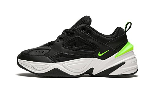 Nike M2K Tekno, Black Volt AO3108 002 - Zapatillas para mujer, color Negro, talla 44.5 EU