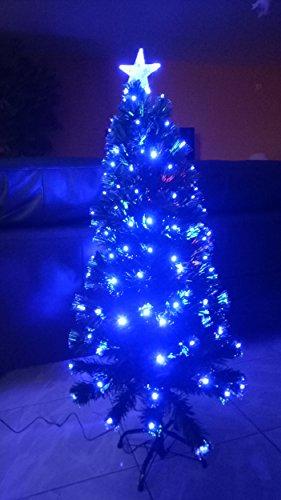 Cadeaux creation Sapin Fibre Optique LED Bleu