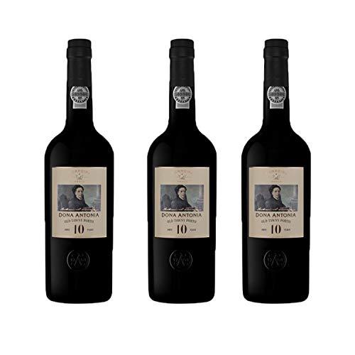 Vino de Oporto Ferreira Quinta Porto 10 años - Vino Fortificado- 3 Botellas
