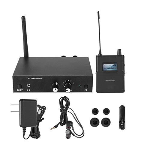 DAUERHAFT In Ear Monitor Sistema de monitorización inalámbrico Inear Sistema de monitorización in Ear inalámbrico para ANLEON S2(American Plug)