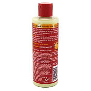Creme of Nature with Argan Buttermilk leave-in hair milk 8oz, 8 Ounce