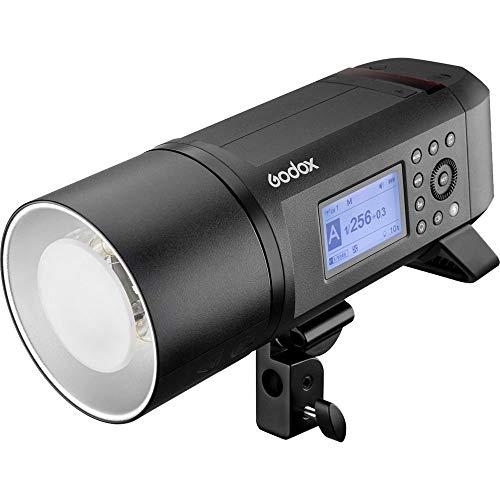 Godox AD600 pro AD600pro 600 Ws Flash con 2.4 G inalámbrico sistema de X dos métodos de fuente de alimentación para Canon E-TTLII, Nikon i-TTL, Sony, FUJIFILM, Olympus, Panasonic (AD600Pro)