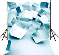 HD 5X7ft 3D Cube秋の背景マジックアメージング風景写真の背景写真ビデオスタジオLYLE015