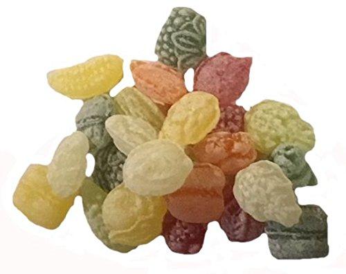 erdnuss king Sommerspecial 1 = 5 x 500 gr. verschiedene Bonbon Edelfrucht - Anisbonbon- Cachou - Pinacolada - Fenchelbonbon