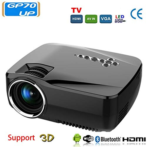 Home theater projector, LED, Android 4.4 TV-box, Full HD, DLAN, WLAN, BT, bioscoop, huis, video, superhelder