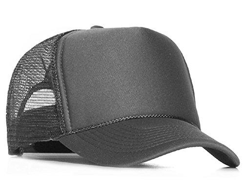 Bastart Caps Raphia type casquette en maille gris