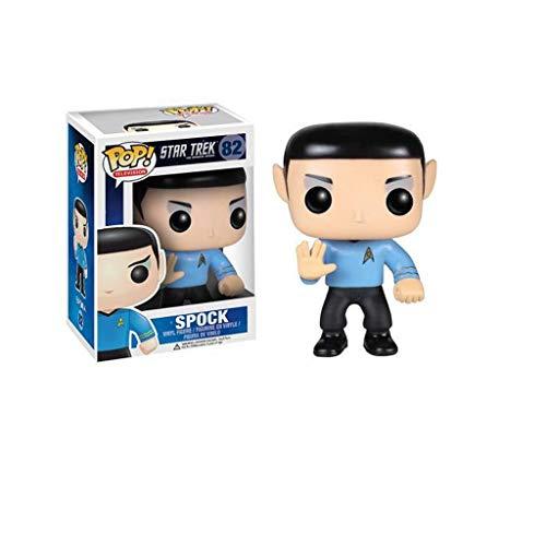 CJH TV: Star Trek - Spock: Pop aantrekkelijke karikatuur PVC-afbeelding met voortreffelijke verpakking De Best Collection for Star Trek fans grootte: 9 cm