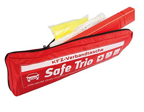 Allflash AL-0201 KFZ-Verbandtasche Safe Trio, Rot