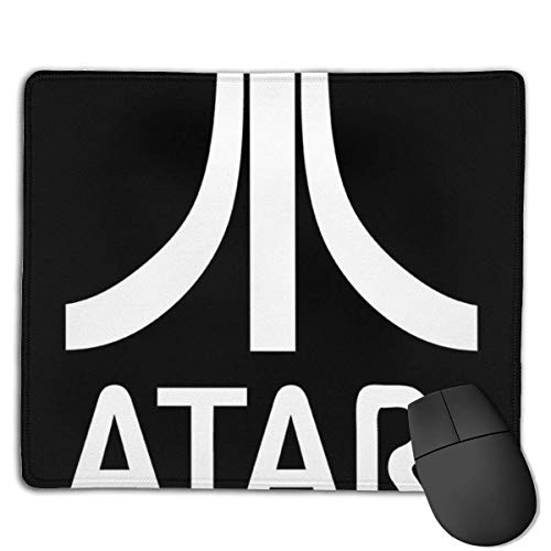 Mousepad Atari Gaming Logo Weiß Computer Kundenspezifische Designs Anime Working Game 25X30Cm Bürogeschenk Rutschfester Schlafsaal Student Weihnachten Rubber Base Gaming Mauspads