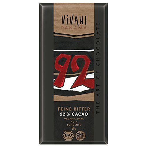 Vivani - Chocolat Noir 92% - 80 g