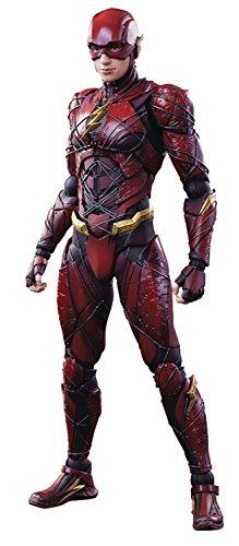 dc comics- Justice League Variant Play Arts Kai The Flash Action Figure, SEP178074
