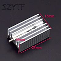 Heat sink 25*15*10MM (with pin) TO-220 transistor and other special high-quality radiator 10pcs/lot