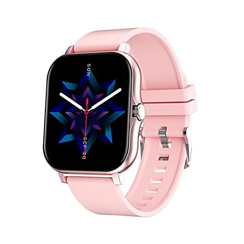 Reloj inteligente, Y13 pulsera inteligente Bluetooth llamada reloj ritmo cardíaco presión arterial sueño monitoreo de salud para hombres y mujeres