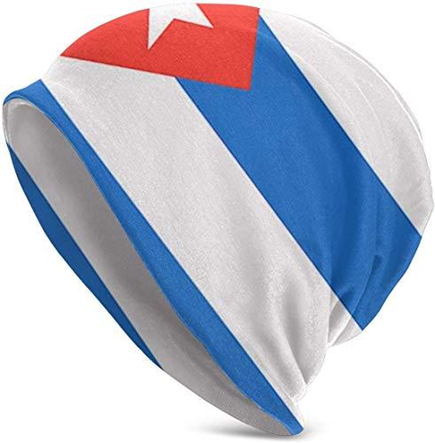 Sunny R Kubanische Flaggen Druck Blumen Kappen Krebs Hut Beanie Ausdehnungs Zufällige Turbane für Frauen