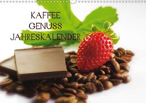 Kaffee Genuss Jahreskalender (Wandkalender 2021 DIN A3 quer)