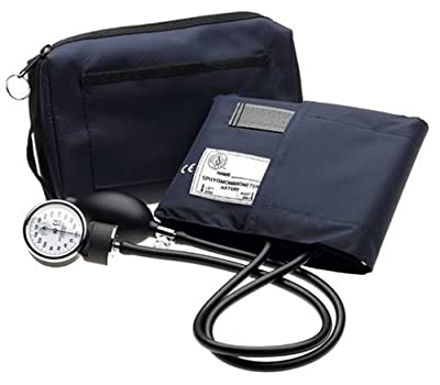 Prestige Aneroid Sphygmomanometer with matching Carrying Case
