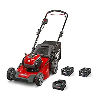 Snapper XD SXDWM82K 82V Cordless 21-Inch Walk Lawnmower Kit with (2) 2Ah Battery & (1) Rapid Charger, 1687884