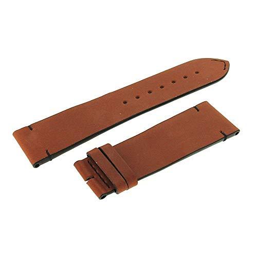 Longines Braunes Armband Skin Diver 22 mm