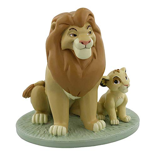 Disney Magical Moments?Mufasa et Simba?My Daddy est Roi Lion King souvenir figurine