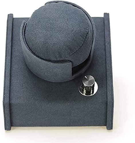 PLMOKN Mira Winders Creative Oblique Watch Shaker Stede Watch Display Soporte Mecánico Mecánico Reloj Winder con Caja de batería Dispositivo de Reloj Giratorio