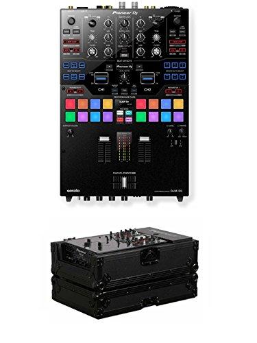Great Price! Pioneer DJ DJM-S9 + Odyssey FZ10MIXBL Case Bundle Deal